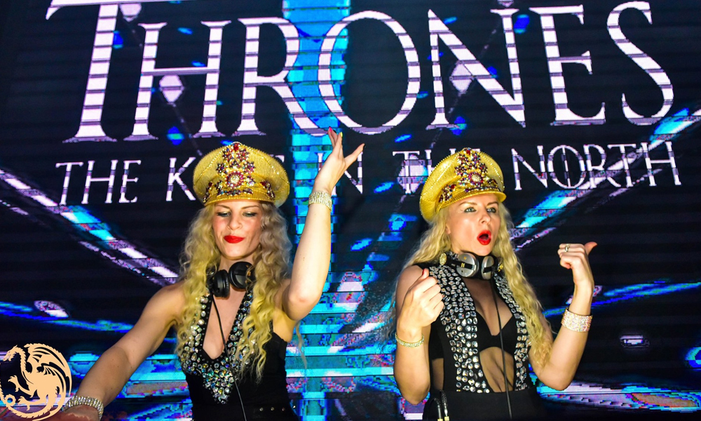 DJ Blondz Thrones Club'ı coşturdu