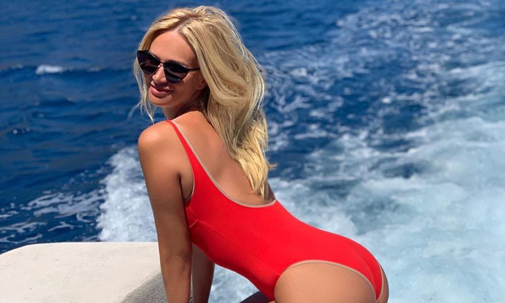 Rus model, Galatasaray için İstanbul'a geldi!