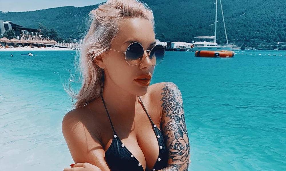Irina Moroziuk sosyal medyayı salladı