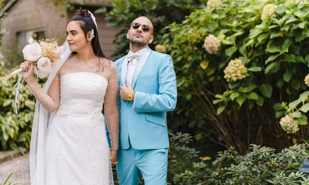 Bartu Küçükçağlayan, Merve Özgüle ile evlendi