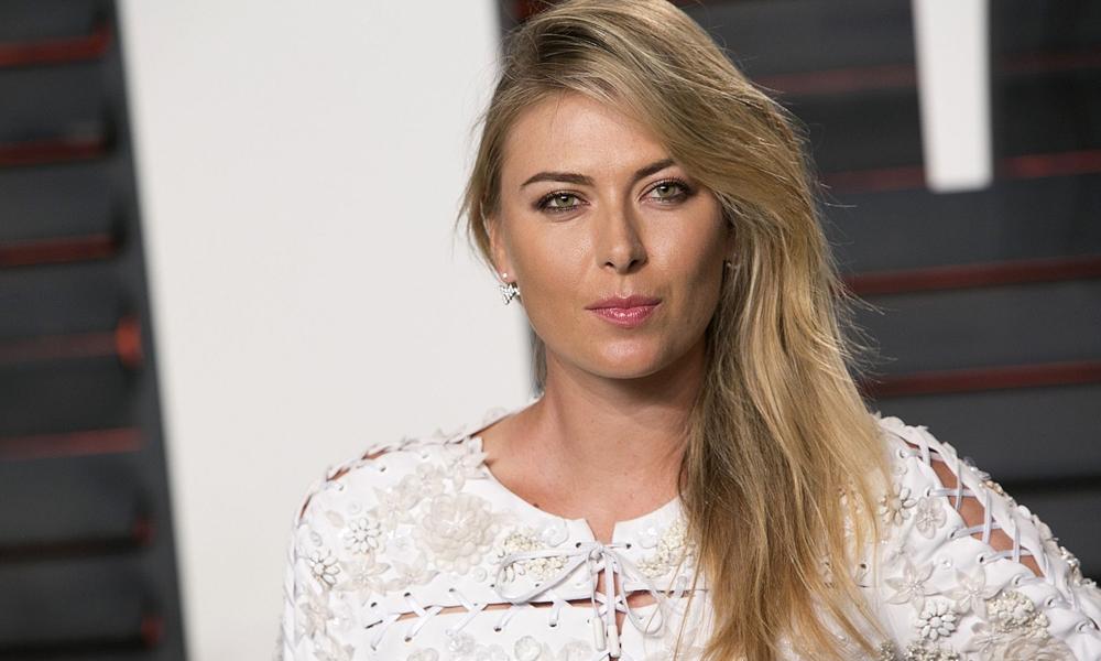 Sharapova'dan erkekleri üzen haber