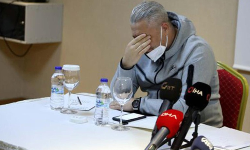 Türkiye'ye veda eden Marius Sumudica, gözyaşlarını tutamadı